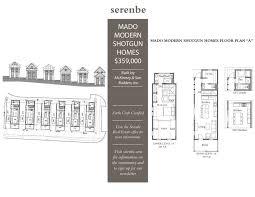 Shotgun Floor Plans Serenbe U0027s Modern Shotgun Homes Take Shape Promising U0027live Well In