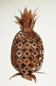 Pineapple Sconce Latiendausa Brings Handcrafted Custom Copper Lighting To U S