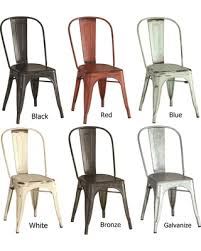 Metal Dining Chairs Memorial Day Sale Vintage Distressed Rustic Metal Dining Chairs Grey