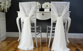 diy wedding chair sashes wedding thingz