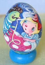 decorative eggs that open painted goose egg painted eggs