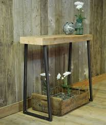 Wood Entry Table Reclaimed Wood Entry Table Matt And Jentry Home Design