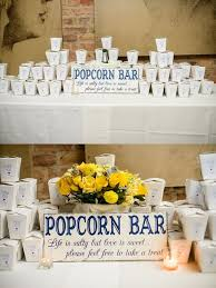 popcorn sayings for wedding best 25 wedding popcorn bar ideas on inexpensive