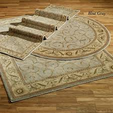 Brown Round Rugs Somerset Scroll Round Rugs