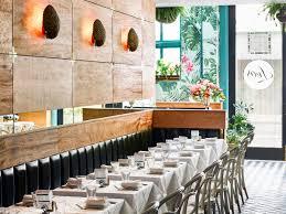Bar Interior Design Leo U0027s Oyster Bar Tropical Glamour In San Francisco Coastal Living