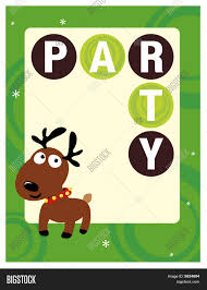 8 5x11 christmas party flyer poster template stock vector u0026 stock
