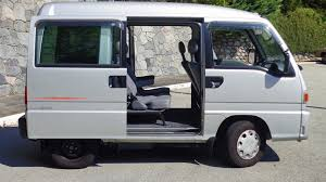 subaru minivan find of the week 1995 subaru sambar micro van autotrader ca