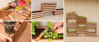 Garden Diy Crafts - diy vertical garden for small spaces