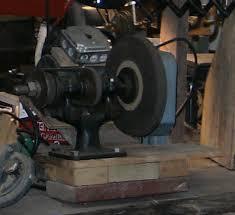 Old Bench Grinder Portable Bench Grinder Using Old Furnace Motor