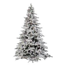 flocked tree artificial flocked christmas trees christmas lights decoration