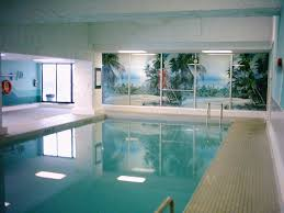 Inside Pool by Swimming Pool Romantic Navy Blue Indoor Pool Design Mixed With