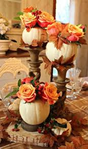 centerpieces for thanksgiving table diy step by step centerpiece in a pumpkin for