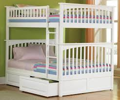 Bunk Beds For Teens Modern Bunk Beds Design - White bunk bed with mattress