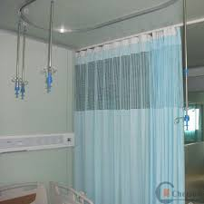 disposable flame retardant hospital curtain for in emergency room