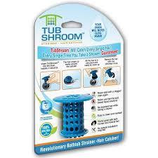 Bathtub Hair Catcher Tubshroom Revolutionary Hair Catcher Drain Protector For Tub