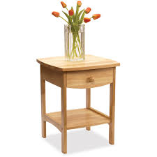 Curved Nightstand End Table Curved Nightstand End Table Walmart