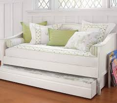 bedroom white daybed with pop up trundle beduf beautiful frames