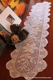 Crochet Table Runner Pattern πάνω από 25 κορυφαίες ιδέες για Crochet Table Topper στο Pinterest