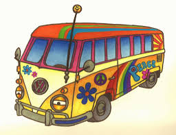 volkswagen hippie van hippie clipart hippie van pencil and in color hippie clipart