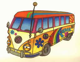 volkswagen hippie van hippie clipart hippie van pencil and in color hippie clipart