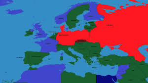 Europe Map During Ww1 History Of Europe Part 4 Ww1 Ww2 Cold War Youtube
