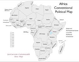 Blank Map Of Middle America by Free Customizable Maps Of Africa For Download Geocurrents