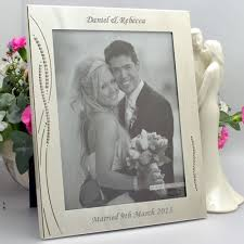 Personalized Wedding Photo Frame 233 Best Wedding Frames Images On Pinterest Wedding Frames