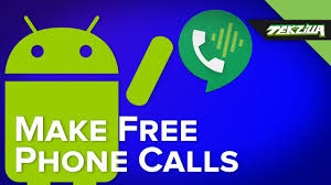 free cell phone calls with google voice youtube