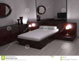chambre coucher moderne chambre à coucher moderne illustration stock illustration du home