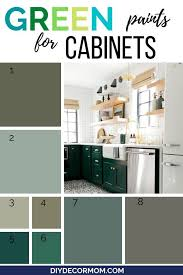 green color kitchen cabinets best kitchen cabinet colors for your kitchen reno