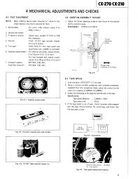 teac cx 210 service manual immediate download