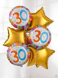 30th birthday balloon delivery birthday balloon bouquet