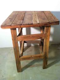 Reclaimed Wood Bar Table Collection In Reclaimed Wood Bar Table With Reclaimed Wood Pub