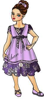 desain baju gaun anak sketsa desain baju anak ds ak 02 jihanhusna spesialis rumah