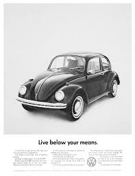 three of our favorite old volkswagen beetle ads
