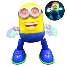 new despicable me minion dancing musical llight educational
