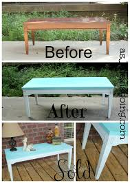 coffee tables simple coffee table blue white before after and