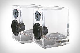 cool looking speakers oneclassic speakers uncrate