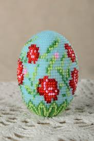decorative eggs madeheart handmade easter decor handmade decorative egg beaded