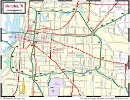 Area 51 Map Memphis Area Road Map
