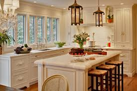 Traditional White Kitchens - 50 beautiful white kitchen interior designs for inspiration hative