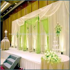 wedding backdrop and stand wedding stage decoration with curtains aliexpress buy white