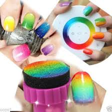 discount nail art designs sponge 2017 nail art sponge stamp