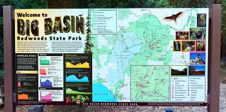 Big Sky Trail Map Big Basin Redwoods State Park Resources