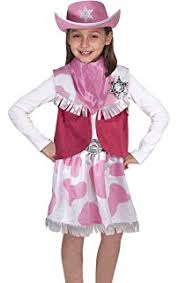 Halloween Costume Cowgirl Amazon Cowgirl Child Costume Medium Toys U0026 Games