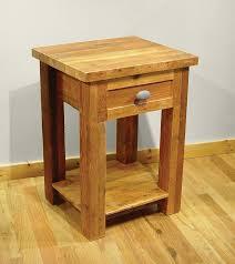 distressed wood nightstand fair natural wood nightstands atme