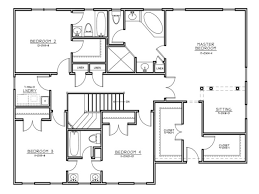 Contemporary Colonial House Plans Center Hall Colonial Floor Plans Ahscgs Com