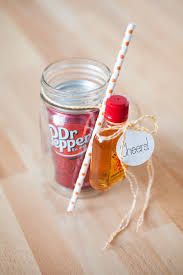 the original diy mason jar cocktail gifts dr pepper pepper and