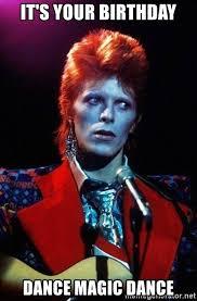 Bowie Meme - david bowie meme generator