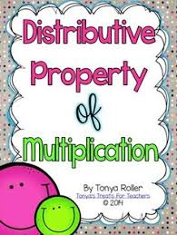 distributive property of multiplication word problems